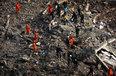组图:贵州福泉炸药运输车发生爆炸 伤亡重大