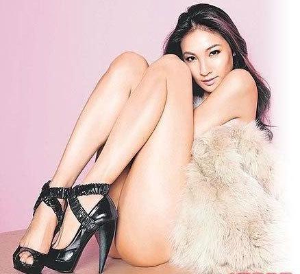 荀琳图片-曝光全球女星最贵身体部位