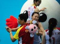 组图:女排世界杯 中国女排3-2逆转日本取胜