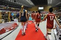 组图:女排2-3巴西 决胜局遭逆转无缘四连胜