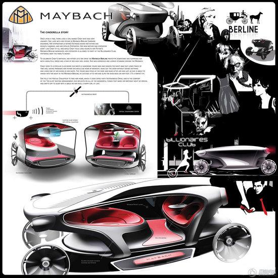 近期世界各地汽车设计作品欣赏 天马行空科幻前卫高清图片