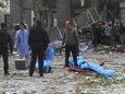 组图:西安嘉天国际发生爆炸 现场惨烈