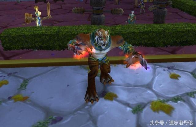 盘点魔兽世界里能变身的武器 每一把都是经典