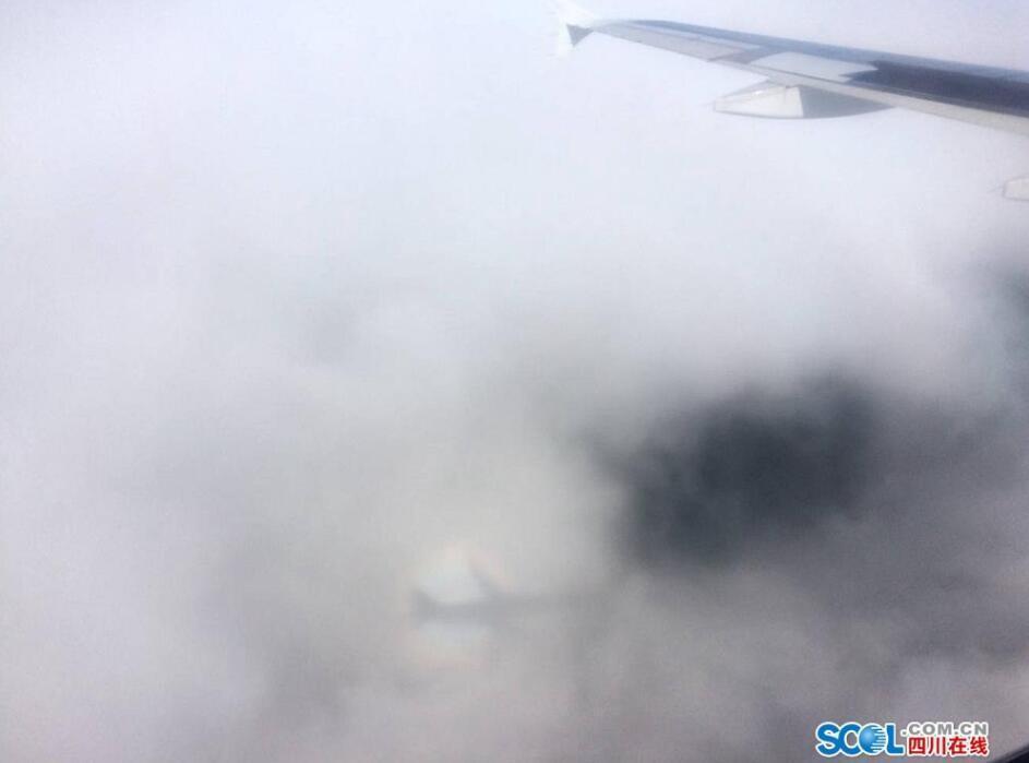 """云中""""佛光""""伴行飞机 网友:实在是太幸运了2017.7.25 - fpdlgswmx - fpdlgswmx的博客"""
