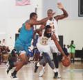 组图:NBA球星战德鲁联赛 哈登闪耀兰德尔制霸
