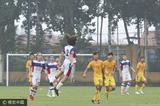 高清:U19国青3-0纽卡斯尔青年人 蔡明民破门