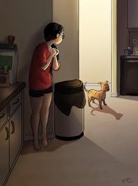 图集:或许你并不知道一个人独居的样子