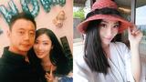 高清:娇妻为申花门神庆生 设计师电眼迷人
