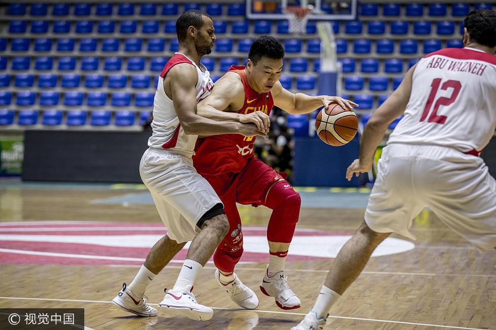 2017男篮亚洲杯5-8名排位赛:中国86-55约旦 进入前6名