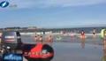 石狮3小时内13名游客海中遇险 救生员接连救人