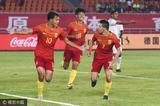 高清:U19国青2-1胜阿曼 叶尔凡进球亲吻队徽