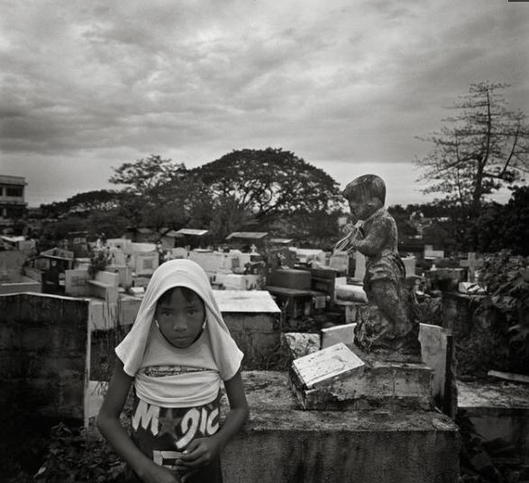墓穴中居住的人们