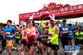 高清:沈阳马拉松落幕 2万名真跑者热力开跑