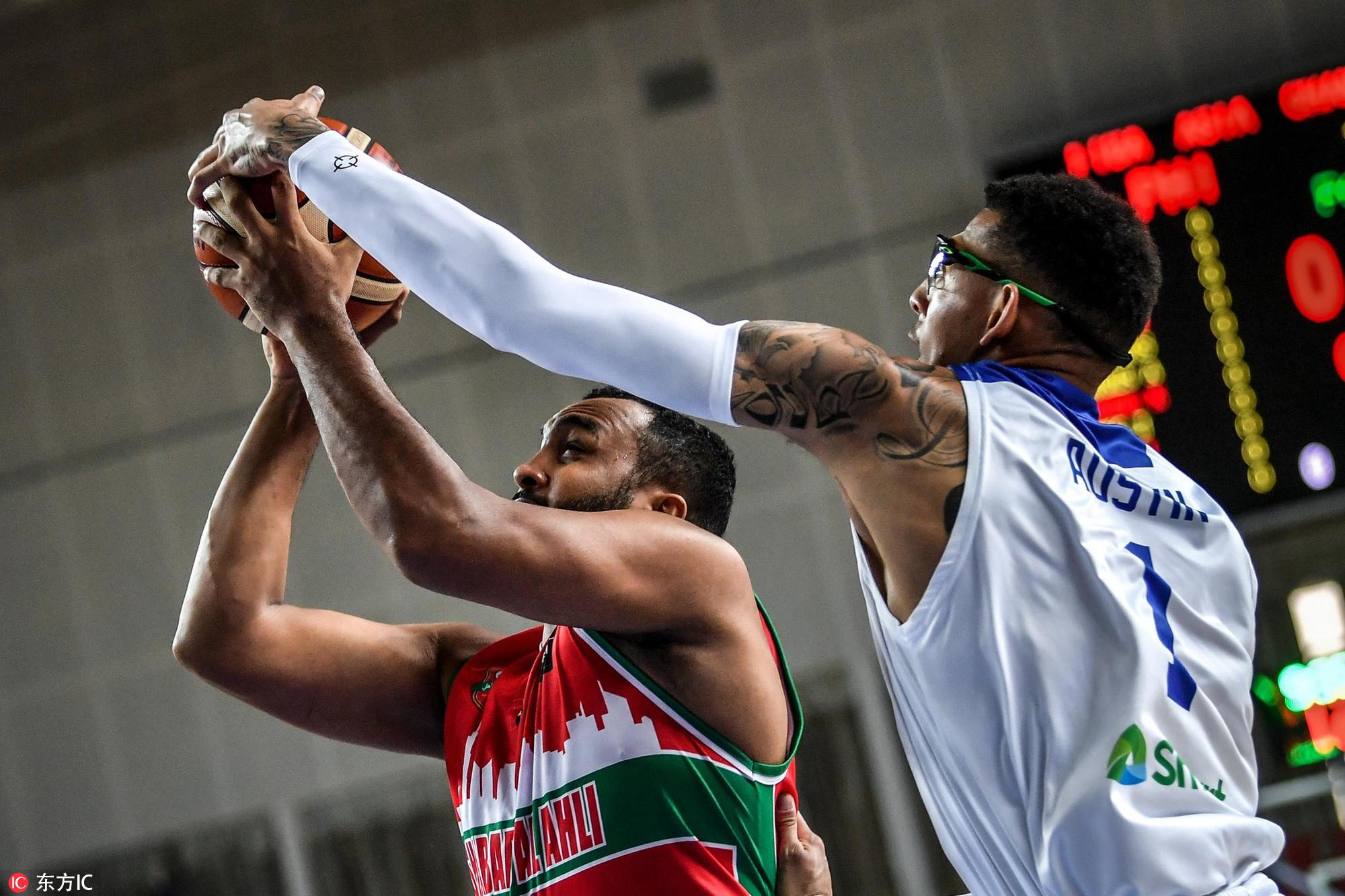 高清:菲律宾联胜西亚土豪队 独眼巨人送大帽