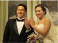 组图:日泳坛名将大婚 娇妻乃华裔归化二代