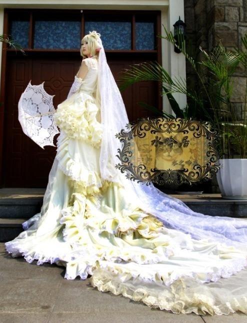 如果婚礼变成cosplay 我希望我娶的是女帝