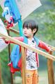 《爸爸5》吴尊儿子大变身 小男子汉初长成(图)