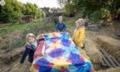英幼儿园让孩子回归自然接受挑战