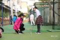 济南一小学将高尔夫球纳入必修课