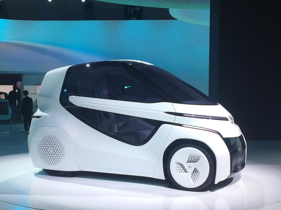 定位微型车 丰田concept-爱i ride概念车
