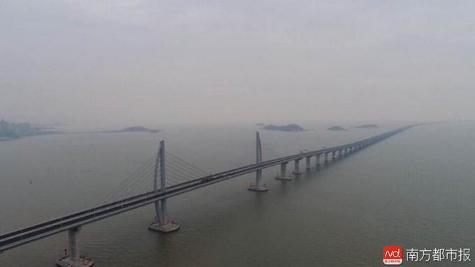港珠澳大桥年底能通车吗 记者上桥体验