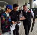 高清:上海大师赛希金斯人气旺 粉丝热情求签名