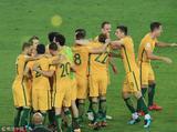 高清:澳洲疯狂庆祝进世界杯 洪都拉斯难掩泪水