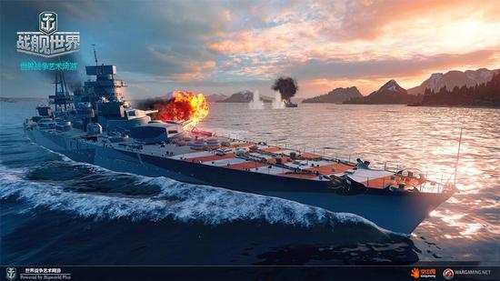 《战舰世界》意大利战舰凯撒号介绍