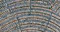 实拍:俯瞰美国城市 犹如一幅艺术画