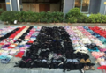 男子偷2000件女性内衣藏在天花板上 天花板被压塌