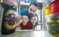 实力坑娃摄影师老爸恶搞双胞胎