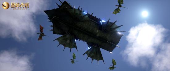 飞行时代终于来了 黑暗与光明圣诞版本空中堡垒首曝