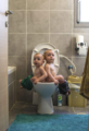 父亲用镜头记录双胞胎儿子童年