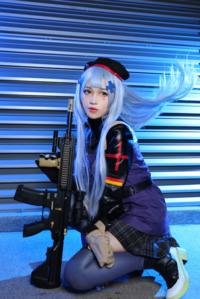 《少女前线》HK416