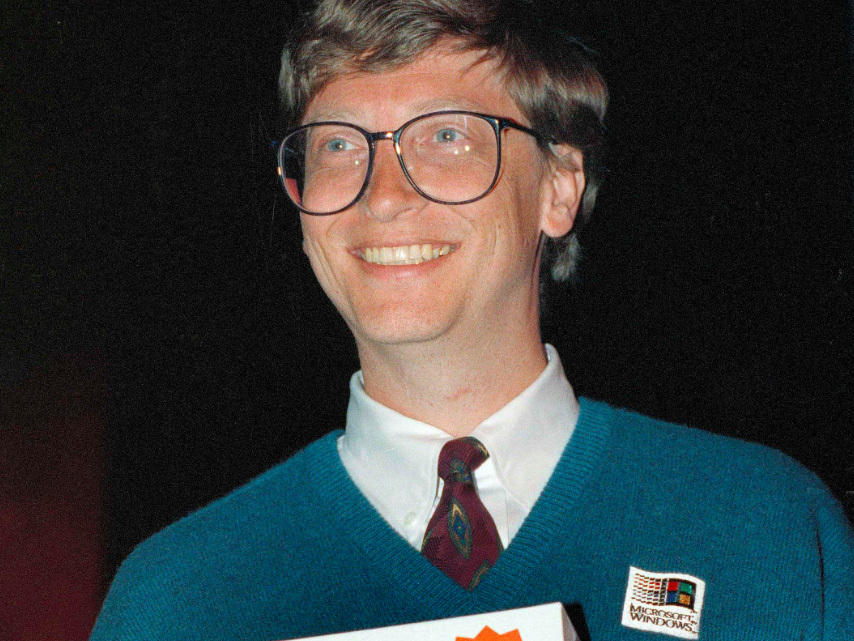 盖茨是如何从哈佛辍学生变成全球首富的 (组图)