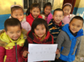 河南山村儿童渴望看书