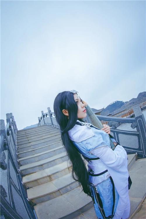 《剑网叁》纯阳道姑