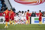 高清:U23国足负卡塔尔遭淘汰 何超染红离场