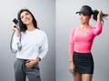 高清:华裔美女高尔夫球手写真 洋溢青春气息