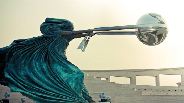 那些惊人创意雕塑释放你的灵感