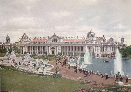 1904年圣路易斯世博会 孙中山前往游览参观