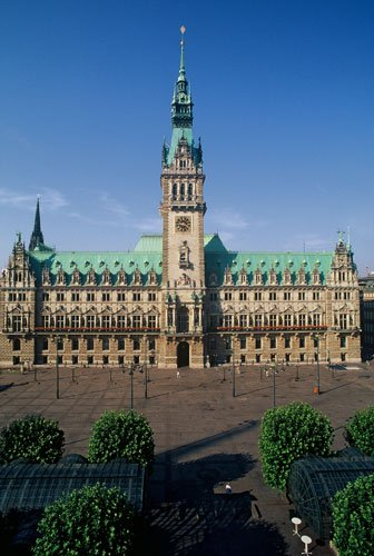 德国最美丽的城市 李鸿章卑斯麦握手之城汉堡