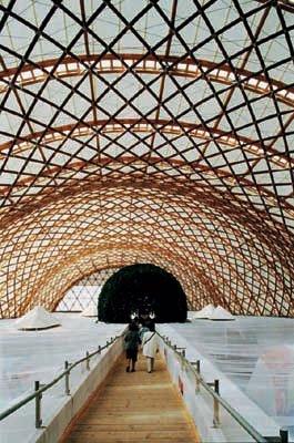 规模最大分量最轻 日本馆完全回收获世博大奖
