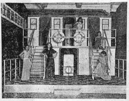 中国丝绸参展1926年世博 中国时装队南洋表演