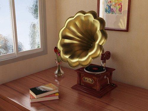 爱迪生发明留声机 1880年墨尔本世博会展出