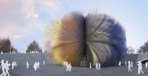 上海世博会英国国家馆 主题:让自然走进城市