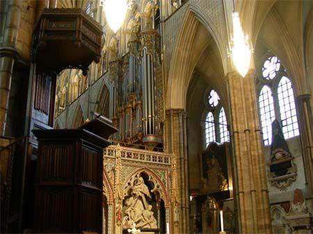 威斯敏斯特教堂风采依旧 成建筑史上重要标志