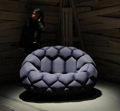 组图:国外奇特椅子创意设计作品 你想得到吗图片
