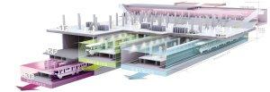 上海世纪大道站成国内首个4线换乘站