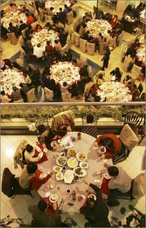 """上海""""年午饭""""受到热捧 世博菜上除夕餐桌"""